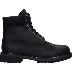 Timberland 6in Prem Wp Combat Boots In Black Leather found on Bargain Bro UK from Italist