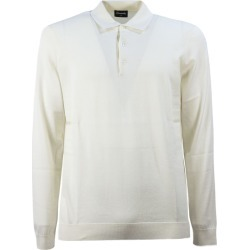 Drumohr Cream Cotton Polo Shirt found on MODAPINS from Italist for USD $210.96