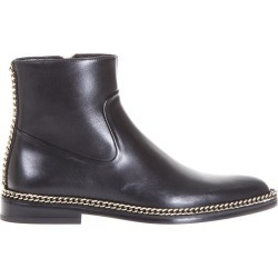 Lanvin Chain Trimming Leather Ankle Boots found on Bargain Bro UK from Italist