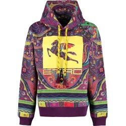 Etro Printed Cotton Hoodie found on Bargain Bro UK from Italist