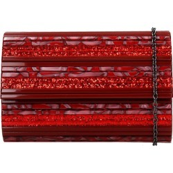 Kurt Geiger Party Envelope Clutch In Red Pvc found on MODAPINS from Italist for USD $191.25