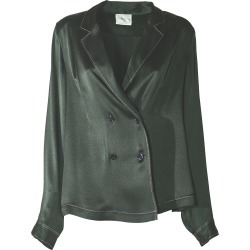 Forte Forte Marocain Satin Jacket found on MODAPINS from italist.com us for USD $572.75