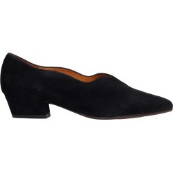 Chie Mihara Rocal Ballet Flats In Black Suede found on MODAPINS from italist.com us for USD $280.05