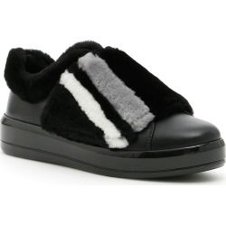 Prada Linea Rossa Sneakers With Fur found on MODAPINS from Italist Inc. AU/ASIA-PACIFIC for USD $440.96