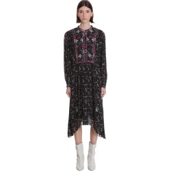 Isabel Marant Étoile Inesia Dress In Black Viscose found on Bargain Bro UK from Italist