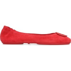 Tory Burch Minnie Leather Travel Ballet Flat found on Bargain Bro UK from Italist