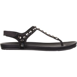 Pedro Garcia Thong Sandals With Rhinestones In Black Leather found on MODAPINS from Italist for USD $438.99