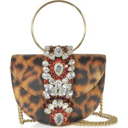 Gedebe Mini Brigitte Animal Printed Leather Clutch found on MODAPINS from italist.com us for USD $729.98