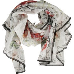 Alexander McQueen Endangered Flower Scarf found on Bargain Bro Philippines from italist.com us for $212.06