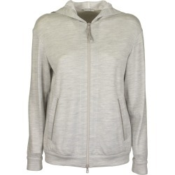 Brunello Cucinelli Light Cotton And Silk Terry Sweatshirt With Jewels found on Bargain Bro UK from Italist