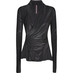 Rick Owens Lilies Lilies Wrap Fitted Jacket found on Bargain Bro UK from Italist