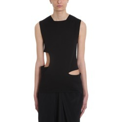Rick Owens Cut Out Black Top found on Bargain Bro UK from Italist