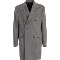 Barba Napoli Coat Double Breasted found on MODAPINS from Italist for USD $776.38