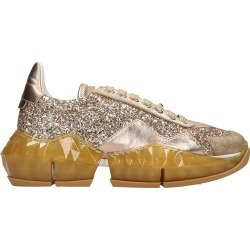 Jimmy Choo Diamond Sneakers In Gold Tech/synthetic found on Bargain Bro UK from Italist