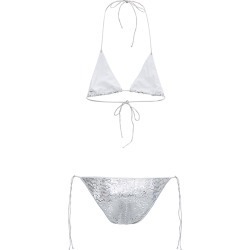 Oseree Silver Sequins Bikini found on MODAPINS from italist.com us for USD $196.84