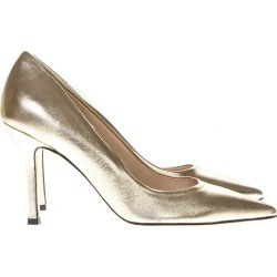 Marc Ellis Laminate Gold Leather Pumps found on MODAPINS from italist.com us for USD $129.92