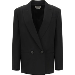 Alexander McQueen Double-breasted Wool Blazer found on MODAPINS from Italist for USD $1846.50