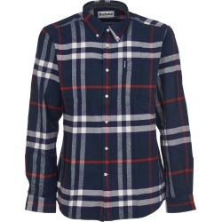 Barbour Blue Checkered Button Down Shirt found on Bargain Bro UK from Italist