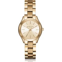 Michael Kors Mini Slim Runway Gold Tone Womens Watch found on Bargain Bro UK from Italist
