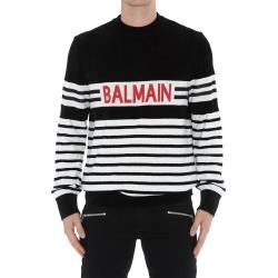 Balmain Logo Balmain Sweater found on Bargain Bro Philippines from italist.com us for $721.47