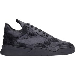 Filling Pieces Low Top Ghost Sneakers In Black Leather found on MODAPINS from Italist for USD $309.07