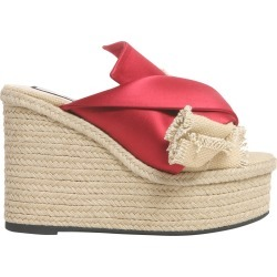 N.21 Mule Sandals With Satin Bow found on MODAPINS from Italist for USD $346.60