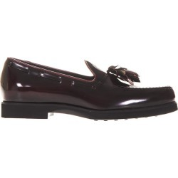 Tods Brushed Leather Loafers With Tassel found on MODAPINS from Italist for USD $342.91