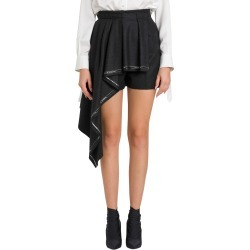 Alexander McQueen Plated Drape Shorts found on MODAPINS from Italist for USD $531.23