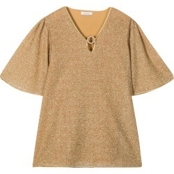 Oseree Gold Glitter Dress found on MODAPINS from italist.com us for USD $192.48