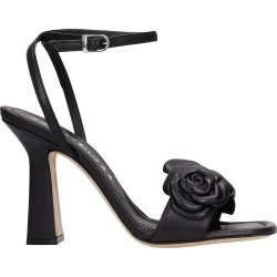 Marc Ellis Emily Sandals In Black Leather found on MODAPINS from Italist for USD $224.70