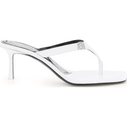 Alexander Wang Ivy Thong Mules Crystal Logo found on MODAPINS from Italist for USD $918.43