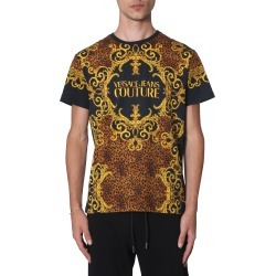 Versace Jeans Couture T-shirt With Logo Print found on Bargain Bro Philippines from italist.com us for $194.41