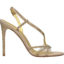 Le Silla Sandals In Gold Leather found on MODAPINS from Italist for USD $505.65