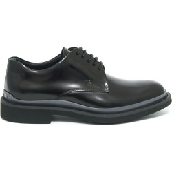 Tods Lace Ups In Black Smooth Leather