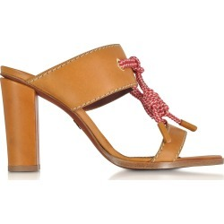 Dsquared2 Camel Leather High Heel Sandals found on Bargain Bro UK from Italist