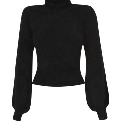 Amen Fur Applique Ribbed Sweater found on MODAPINS from italist.com us for USD $299.72