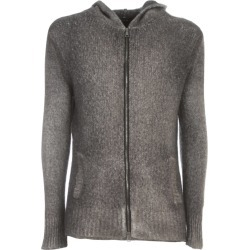 Avant Toi Hooded Brushed Bio Cotton Blend Cardigan With Zip found on MODAPINS from Italist for USD $825.66