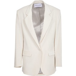 Hebe Studio Cordury White Jacket found on MODAPINS from italist.com us for USD $314.59
