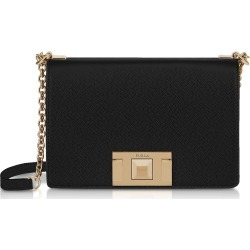 Furla Black Leather Mimì Mini Crossbody Bag found on MODAPINS from Italist for USD $356.00
