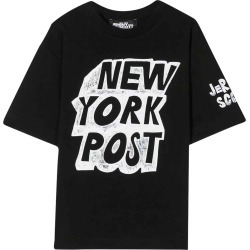 Jeremy Scott Black Maxi T-shirt Frontal Press found on MODAPINS from italist.com us for USD $97.71