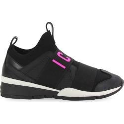 Dsquared2 Black Fuchsia Neoprene Icon Sneaker found on Bargain Bro from Italist for £408