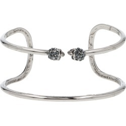 Alexander Mcqueen double Twin Thin Skull Cuff found on Bargain Bro India from italist.com us for $368.77