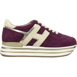 Hogan Purple Midi Platform Sneakers found on MODAPINS from Italist for USD $483.46
