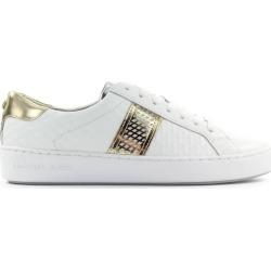 Michael Kors Irving Stripe Lace Up White Sneaker found on Bargain Bro UK from Italist