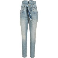 Attico Vivien Washed High-rise Jeans found on MODAPINS from italist.com us for USD $700.05
