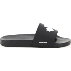 Dsquared2 Rubber Slides Logo found on Bargain Bro UK from Italist