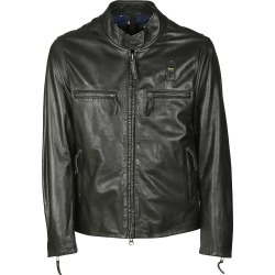 Blauer Multi-zip Buttoned Collar Jacket found on MODAPINS from italist.com us for USD $444.26