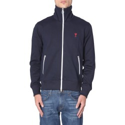 Ami Alexandre Mattiussi Zip Sweatshirt found on Bargain Bro Philippines from italist.com us for $264.29