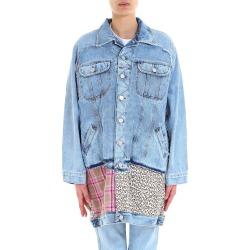 Natasha Zinko Padded Oversize Denim Jacket found on Bargain Bro India from italist.com us for $542.68