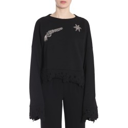 Amen Cropped Sweatshirt found on MODAPINS from Italist for USD $230.57